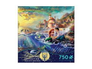 Thomas Kinkade Disney Dreams - The Little Mermaid: 750 Pcs