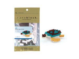 nanoblock Animals Level 1 - Green Sea Turtle: 110 Pcs