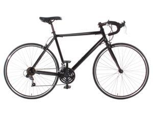 Vilano Aluminum Road Bike Commuter Bike Shimano 21 Speed 700c, Medium (54cm) - Black