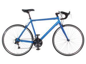 Aluminum Road Bike Commuter Bike Shimano 21 Speed 700c Medium (54cm) - Blue