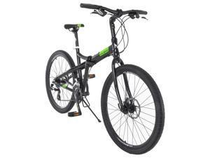Vilano Midtown 26 Inch Folding Commuter Bike - Shimano 24 Speed Disc Brakes