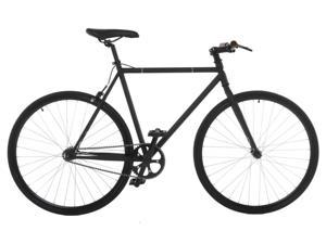 Vilano Fixed Gear Bike Fixie Single Speed Road Bike (54 cm) - Matte Black