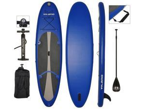 Vilano Navigator Inflatable SUP Stand Up Paddle Board Package