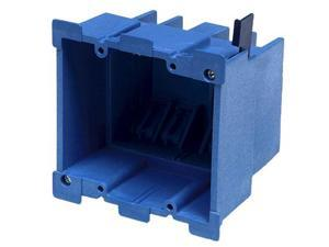Double Gang Old-Work Electrical Box 34 Cubic Inches