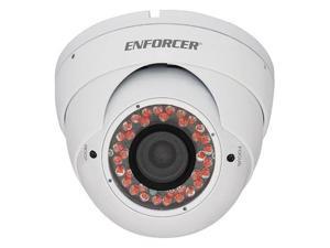 SECO-LARM Enforcer 36 IR LED Indoor/Outdoor Vandal-Resistant Color Dome Camera,