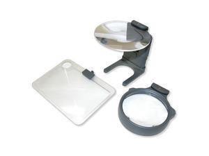 Carson Optical HM-30 3-in-1 LED Lighted Hobby Magnifier