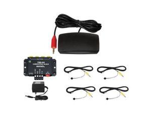 Xantech HL85BK Designer Hidden Link IR Receiver Kit, Black