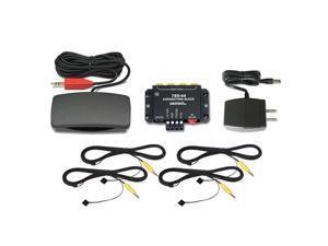Xantech HL95BK Universal Hidden Link IR Receiver Kit, Black