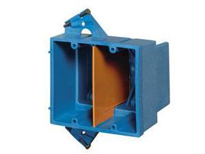 Double Gang Deep Wall Box, 35 Cubic Inches
