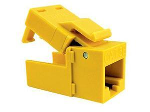 Platinum Tools 705YL-1 EZ-SnapJack Cat.5e Connector - Yellow