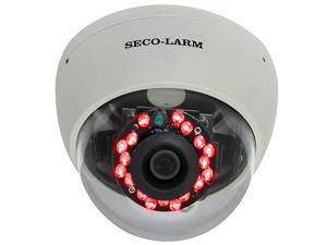 SECO-LARM EV-2766-NVWQ MidSize Vandal-Resistant Dome IR Camera 540TV Line