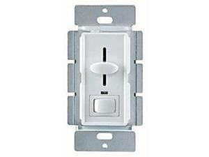 Enerlites 50121 WH 700W Slide Dimmer with Switch and LED - White