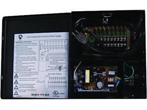 Universal Power Group Inc. 80076 12 VDC 9 Cameras CCTV Power Supply