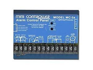 United Security Products MC-5A 4 Zone Alarm Control Panel