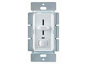 Enerlites 50321 IV 3-Way 700W Slide Dimmer with Switch and LED - Ivory