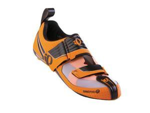 Pearl Izumi 2014/15 Men's Tri Fly Octane Triathlon Cycling Shoe - 15312002 (Safety Orange/Black - 38)