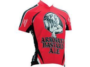 Canari Cyclewear 2015/16 Men's Arrogant Bastard Ale Short Sleeve Cycling Jersey - 1272 (Red - S)