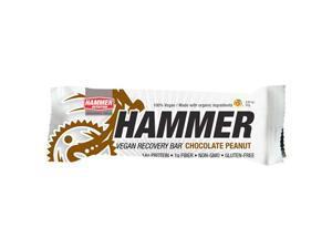 Hammer Nutrition Vegan Recovery Bar - Box of 12 (Chocolate Peanut)