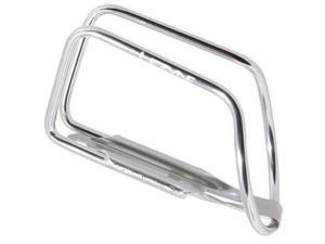 Lezyne Power Alloy Bicycle Water Bottle Cage (Polished Silver)