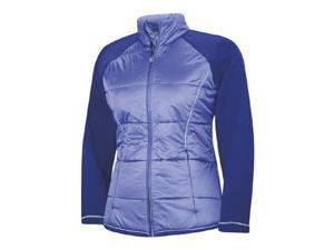 Adidas 2013/14 Women's ClimaProof Padded Jacket (Bluebonnet/White - XS)