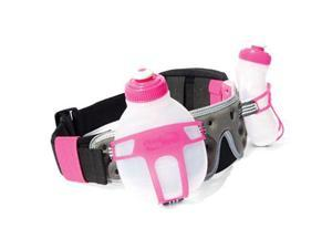FuelBelt 2014 Revenge? R2O Rock-n-Roll Marathon Series Hydration Belt (Hibiscus/Carbon)