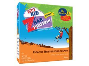 Clif Bar ZBar Protein for Kids - Box of 5 (Peanut Butter Chocolate)