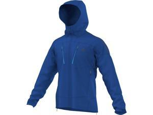 Adidas Outdoor 2014/15 Men's Terrex Swift Softshell Hoodie (Blue Beauty - L)
