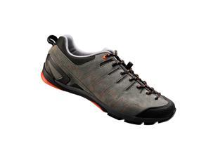 Shimano 2015 Men's Recreational Cycling Shoes - SH-CT80GO (Grey/Orange - 40)