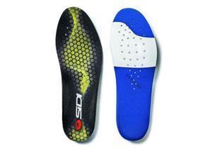 Sidi 2015 Comfort Fit Cycling Shoe Insoles - Black/Yellow - 13930014 (43)