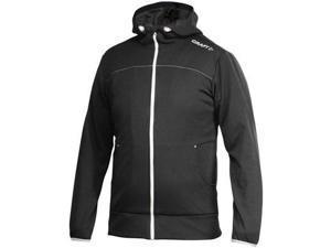 Craft 2015/16 Men's Leasure Full Zip Hood - 1901692 (Black/Platinum - M)
