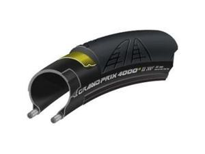 Continental Grand Prix 4000S II Clincher Road Bicycle Tire (Black - 700 x 23)