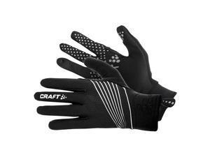 Craft 2017 Storm Full Finger Glove - 1902329 (Black - M)