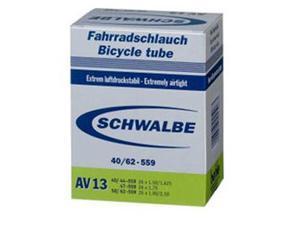 Schwalbe Bike Tube - 40mm Schraeder/Auto (16 x 1.125-18 x 1.125 - 40mm Schraeder Valve - AV4)