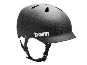 Bern 2012 Watts Carbon EPS Summer Bicycle Helmet - VM5ECC (Matte Finish Carbon Fiber - M)