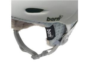 Bern Women's Knit Winter Helmet Upgrade Kit (Berkeley Grey Knit Upgrade - Zipmold - M/L)