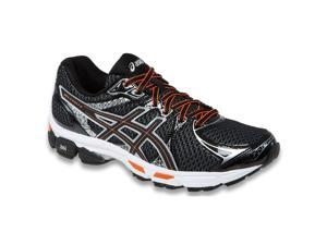 Asics 2015/16 Men's Gel-Exalt 2 Running Shoe - T4B1N.9099 (Black/Onyx/Orange - 6.5)