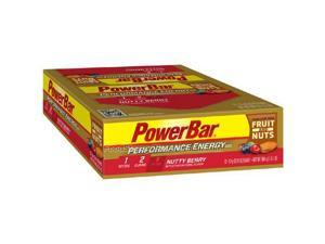 PowerBar Performance Energy Bar with C2 MAX - Box of 12 (Fruit & Nut Nutty Berry)