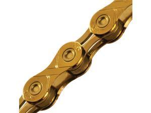 KMC X11L 11-Speed Titanium Gold 116 Link Bicycle Chain - X11L x 116L, TI Gd