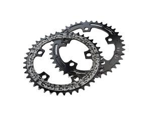 Race Face CX Single Ring Narrow/Wide Bicycle Chainring - Black - 130 x 44T (Black - 130 x 44T)