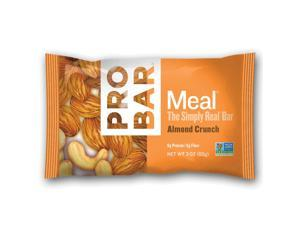 ProBar Meal Whole Food Energy Bar - Box of 12 (Almond Crunch)
