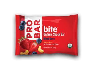 ProBar Bites Energy Snack Bar - Box of 12 (Mixed Berry)