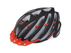 Catlike 2015 Vacuum Mountain/Road Cycling Helmet (Black Matte/Red - L)