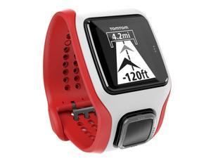 TomTom Cardio Runner GPS Watch (White/Red)