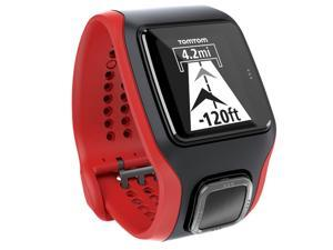 TomTom Cardio Multi-Sport GPS 運動手錶 (黑/紅)