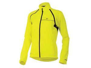 Pearl Izumi 2015 Women's Elite Barrier Convertible Cycling/Running Jacket - 11231303 (Screaming Yellow - L)
