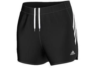 Adidas Outdoor 2015 Women's Ultimate 3S K Training Short (Black/Black/White - S)