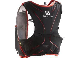 Salomon 2015 S-Lab Advance Skin3 5 Hydration Set (Aluminium/Black/Red - XXS)