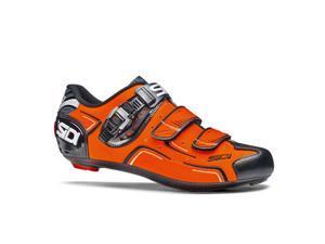 Sidi 2015 Men's Level Road Cycling Shoes - Orange Fluorescent/Black - SRS-LVL-FOBK (Orange Fluorescent/Black - 42)