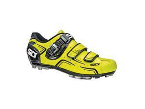 Sidi 2015 Men's Buvel Mountain Cycling Shoes - Yellow Fluorescent/Black - SMS-BVL-FYBK (Yellow Fluorescent/Black - 44.5)