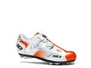 Sidi 2015 Men's Cape Mountain Cycling Shoes - White/Orange Fluorescent - SMS-CPE-WHFO (White/Orange Fluorescent  - 41.5)